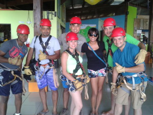 Red Frog Zipline Team