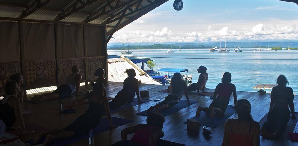Tennille Yoga Class