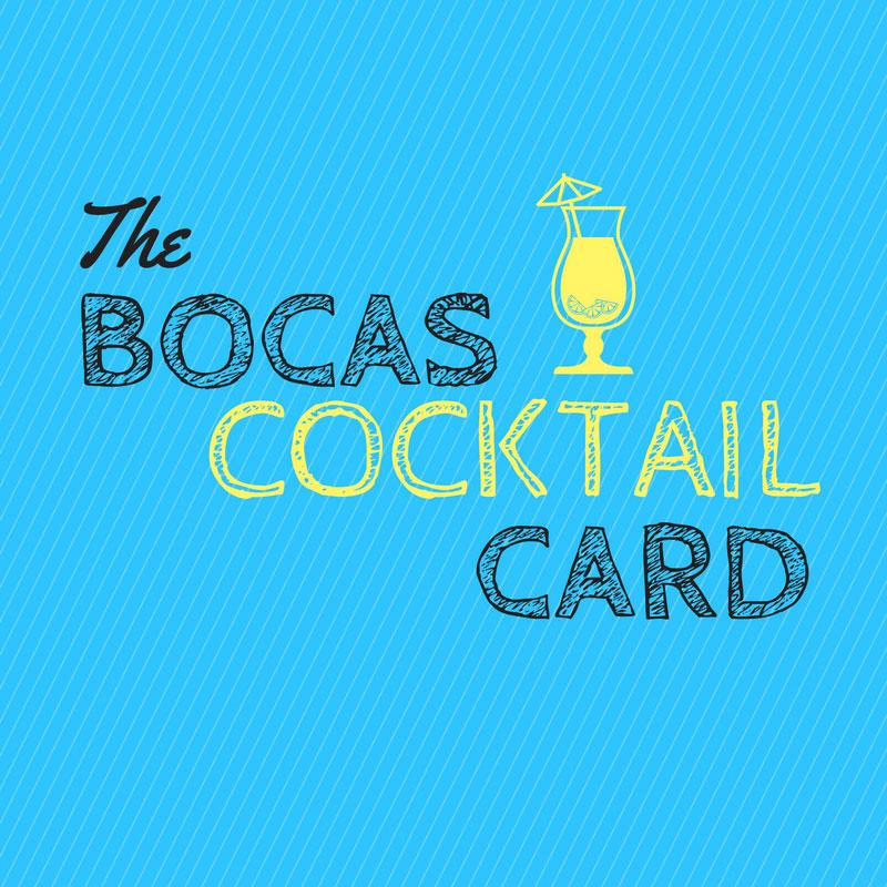new the bocas cocktail card the bocas breeze bocas del toro panama