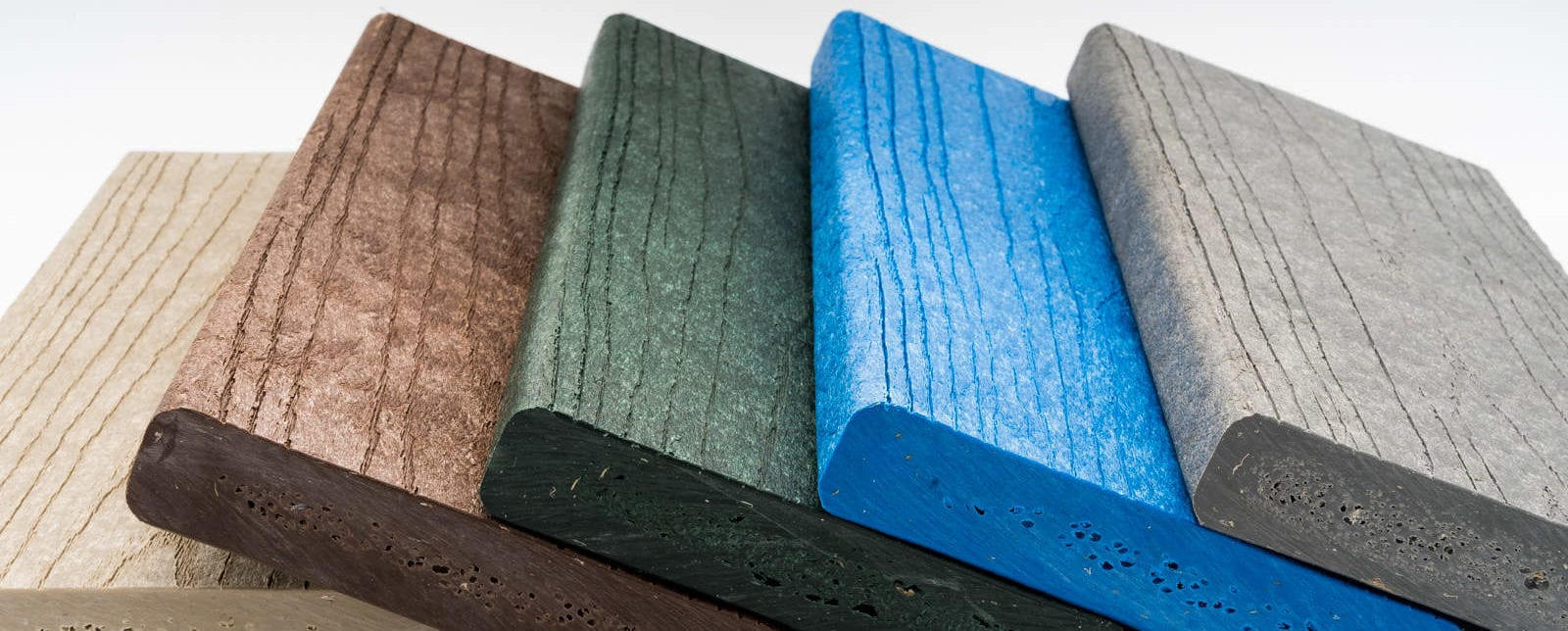 Lumber made from recycled plastic