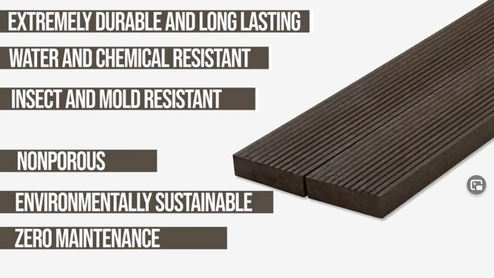 plastic lumber and its benefits durable long lasting water and chemical resistant insect and mold resistant nonporous sustainable zero maintanence