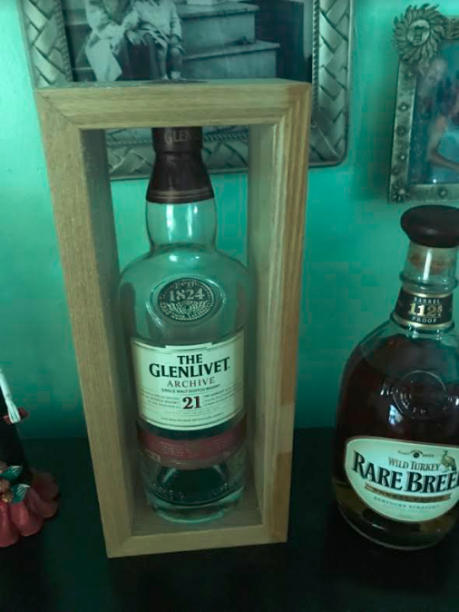Joe Riccardo bottle of scotch