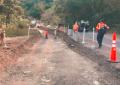 Roadwork in Bocas del Toro