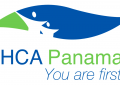 """The logo for HealthCare Alliance Panama with their slogan """"You are first"""""""