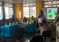 A discussion made up of panelists of promient speakers of the native English dialect of Bocas del Toro, Guari-Guari.