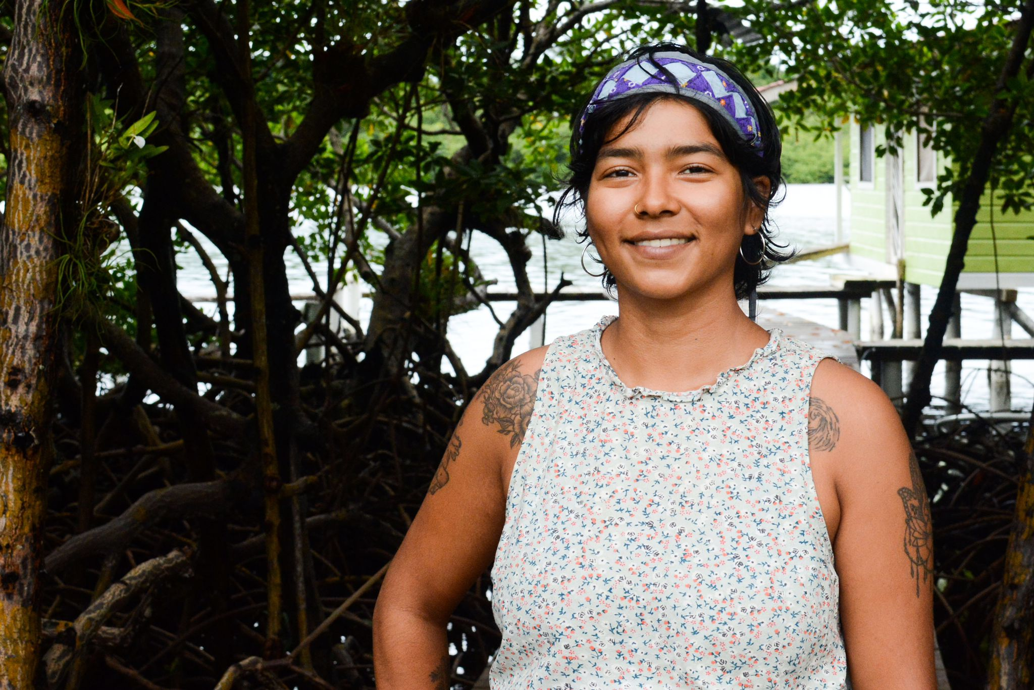 Kelly Hernandez, local liason for Days for Girls, helping to end period poverty in Panama