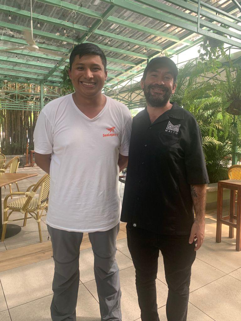 Felipe Baker and Mario Castrellón