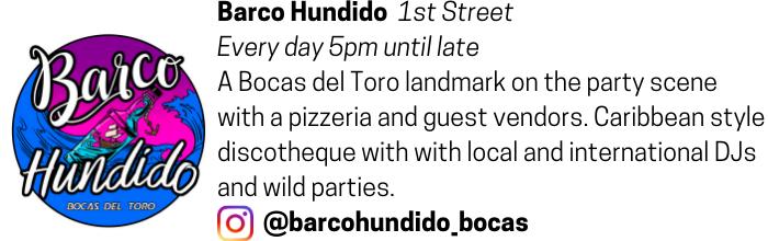 Barco Hundido advertisement