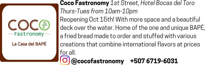 Coco Fastronomy advertisement