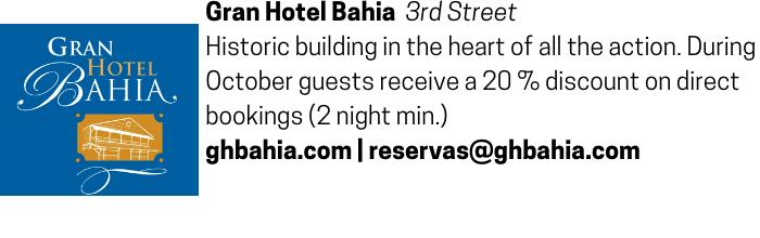 Gran Hotel Bahia advertisement