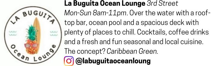La Buguita Ocean Lounge advertisement