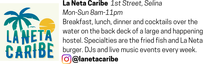 La Neta Caribe advertisement