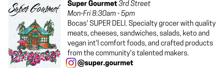 Super Gourmet advertisement